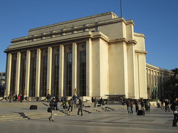 Palais de Chaillot 夏祐宮