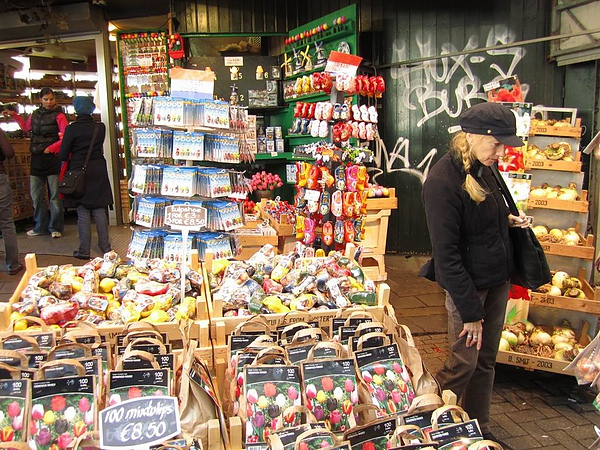辛格爾花市 (Singel Bloemenmarkt) 一角