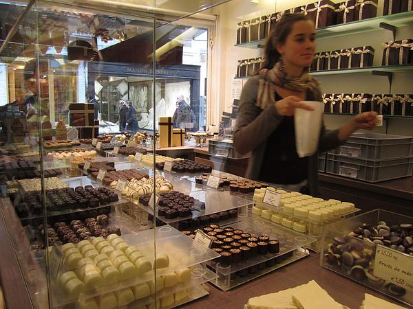 到處都是手工巧克力店