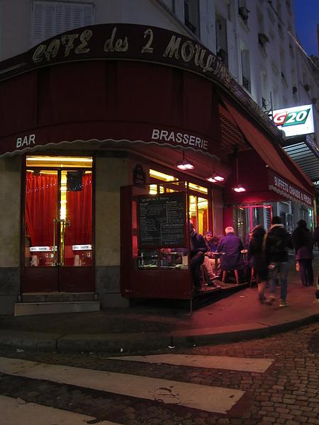 Les 2 Moulins 雙風車咖啡館