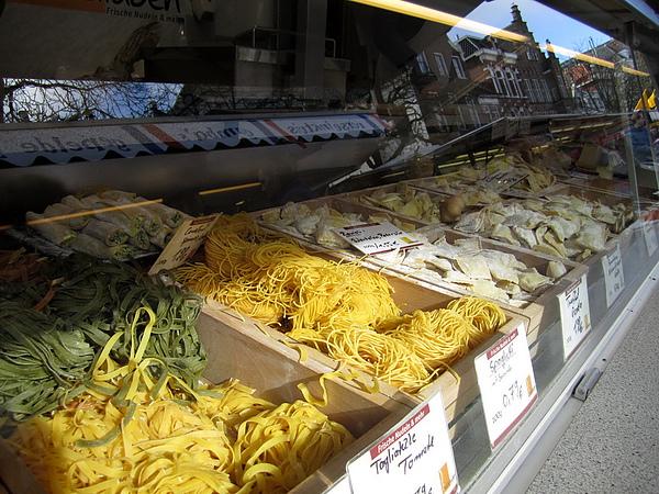 選擇多多的義大利麵食