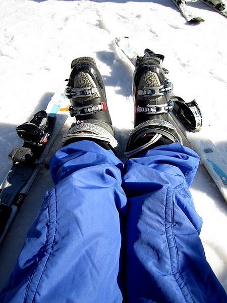 my ski shoes