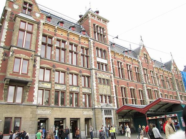 Amsterdam Centraal Station 阿姆斯特丹中央火車站