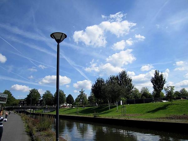 荷蘭的雲也很有名