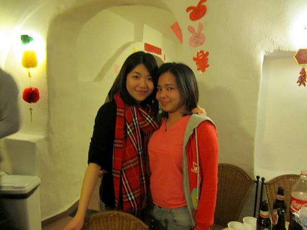 with Sarita
