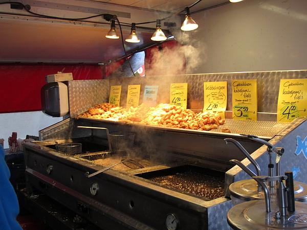 新鮮又好吃, 荷蘭名產之一: 炸魚