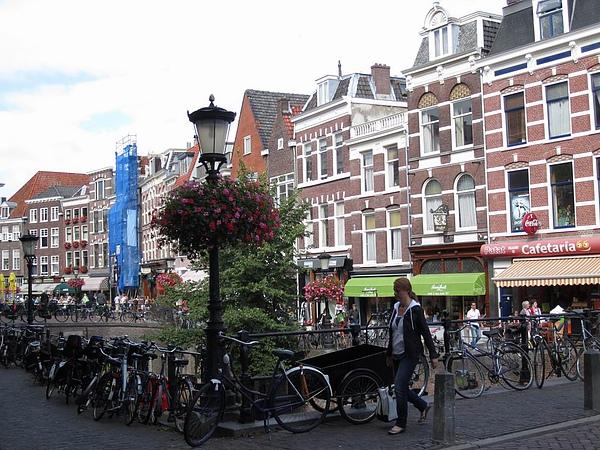 像玩具般的房屋! 荷蘭典型建築