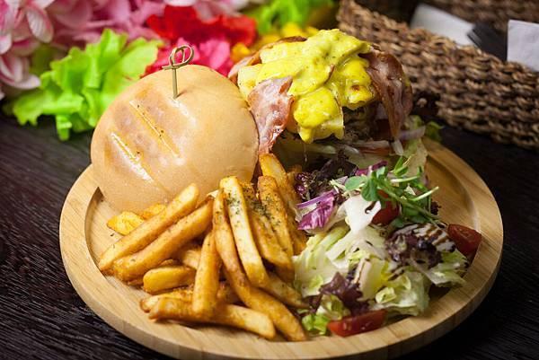 Jimolulu 美式夏威夷餐廳-漢堡