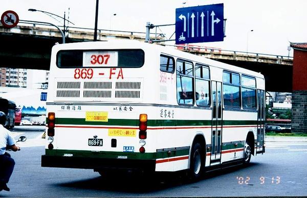 台北客運的公車  感謝台北提供