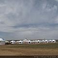 一群蒙古包