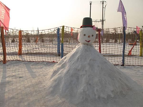 奇形怪狀的雪人