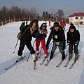 滑雪很酷!