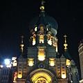 晚上的索非亞教堂
