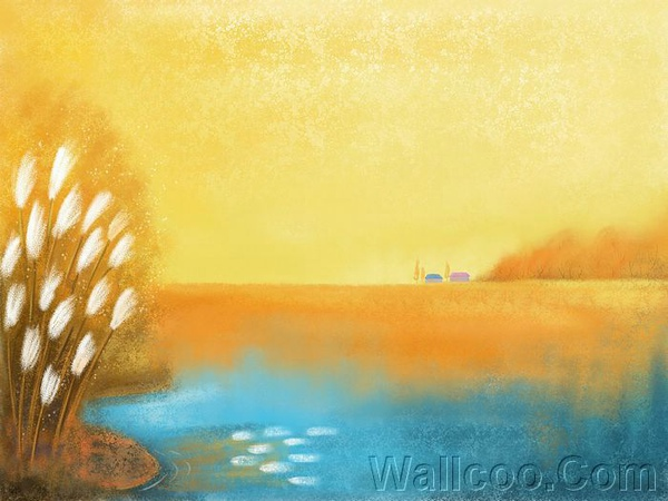 童話秋天風景桌布 5_beautiful_season_Fall_illustration_art_3013.jpg