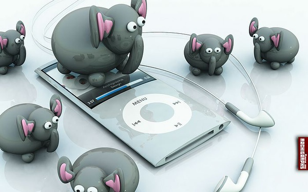 big5.wallcoo.com_Archigraphs創意3D動物插畫設計桌布 - iPod Elephant Discovery圖片桌布7_Elephants.jpg