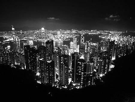 20110705香港太平山頂夜景