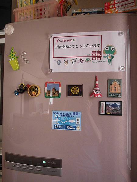 小粉紅是工作時的高雄的軟體工程師-阿蓋,在我離職前送我的六人份粉紅大同電鍋,我很感動>O<