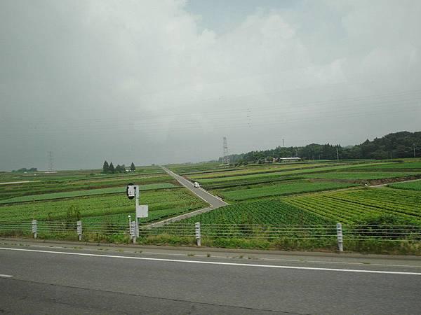 巴士往北上行經四個縣:千葉-琦玉-群馬ー新潟。這裡應該是琦玉縣