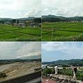 放眼望去全是稻田,新潟縣到囉!還經過天地人的直江兼續的故鄉南魚沼市,農田中立了「愛」的牌子~來不及拍。