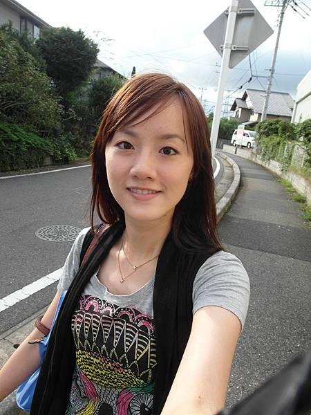 下午很難得出門~因...為...今...天...要去葉大姐家看隅田川花火大會~~~~YEAH~!!