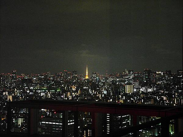 也可以看到東京鐵塔,真酷!