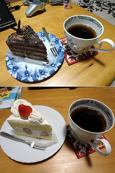 飯後吃蛋糕配紅茶好爽