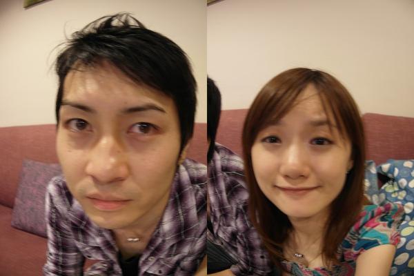 新相機的效果,魚眼變形