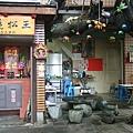 中午來到護境松王夫妻樹邊的麵店,因為聽說這裡有一種麵很好吃
