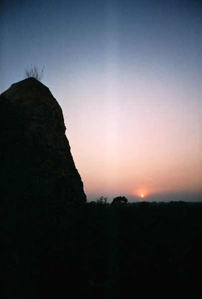 Pre Rup的夕陽