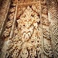 Preah Ko的壁雕一角