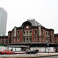 是地位很重要的東京車站啊~可是還在修復改建中
