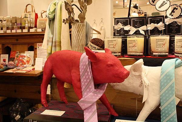 給小紅豬打領帶