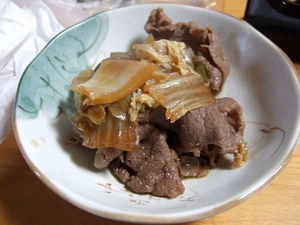 昨晚太晚來沒能吃到的壽喜燒變成今天的早餐,美味しかったわ!