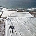 映入眼簾盡是一大片被雪覆蓋的大地,超興ᚒ!