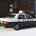 這裡的警車看起來特別可愛!