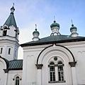 1859年由俄羅斯領事館建造,所以深受俄羅斯建築所影響