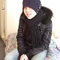 帽子是向葉哥哥借的,沒辦法本人頭很大,但為了今天不得不戴