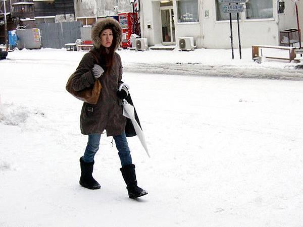 正要去工作的函館正妹