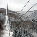 纜車是要繼續往上到山頂....嗎?我開始冒冷汗...