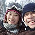 決定此行要滑雪還真是來對了,好開心唷~大師您說是吧!?