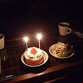 原來是補我去年的生日蛋糕!驚喜~