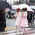 下雨天一個女生在秋葉原沒搞頭,反正要去換衣服所以又來原宿了