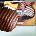 ROYCE'的巧克力洋芋片對我來說太甜了