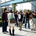 從大阪來的情侶突然被抓來問話