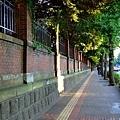 下町路線己經完全放棄!! 走著走著就到東大本鄉校區的圍牆邊