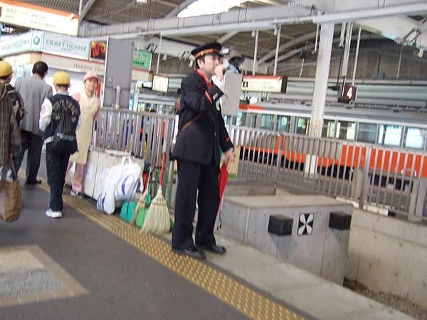 幸好如期九點順利到達箱根湯本,花了二個小時呢~真是鬆了一口氣