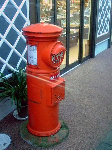 鄉下地方還保有日本的舊式郵筒