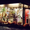 以萬聖節為主題的花藝品店