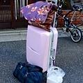 回去的行李,看起來還好,但它真的狠重狠重!