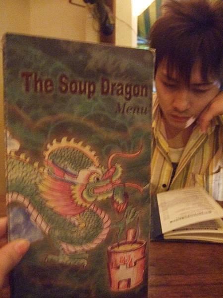 很努力地在研究menu,每一樣好像都很好吃,真傷腦筋